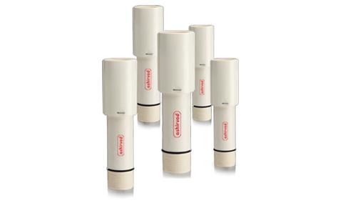 Tubes en UPVC pour colonnes de propage