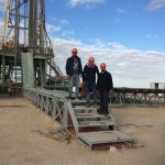 diagraphie forage albien sidi khaled 1600 m travaux east drilling